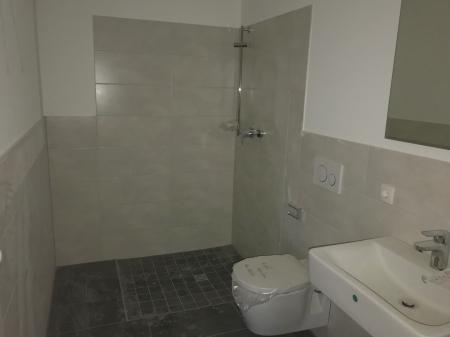 Beispiel Bad - noch ohne Duschwand