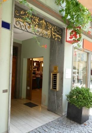 Eingangsdetail
