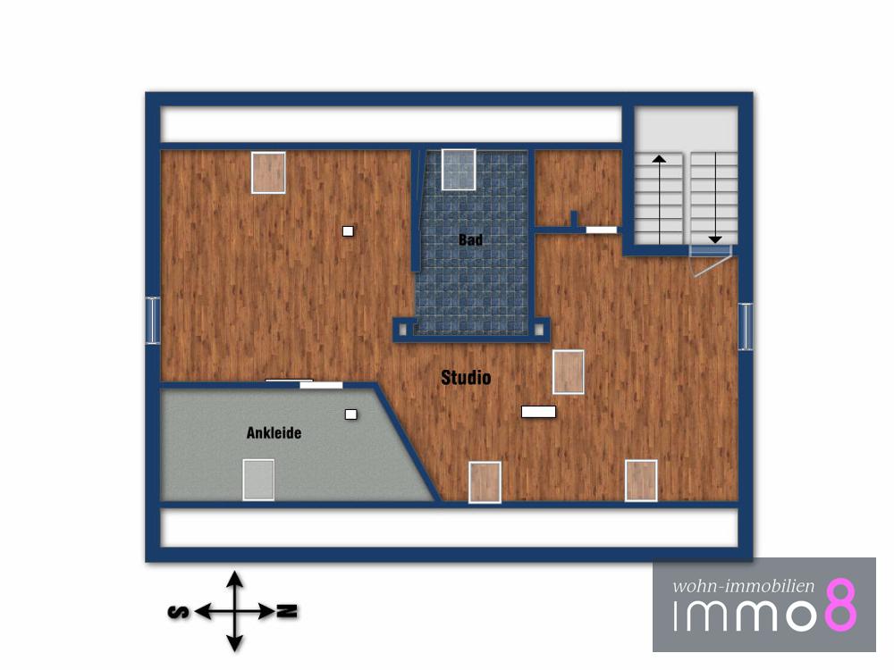 Dachgeschoss - Studio