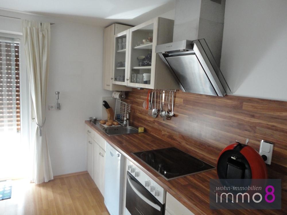 Wohnküche im Erdgeschoss