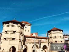 Nah zum Isartor zur historischen Altstadt