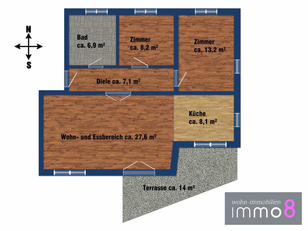 B6 Erdgeschoss