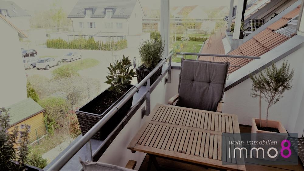 über den Dächern von Waldperlach