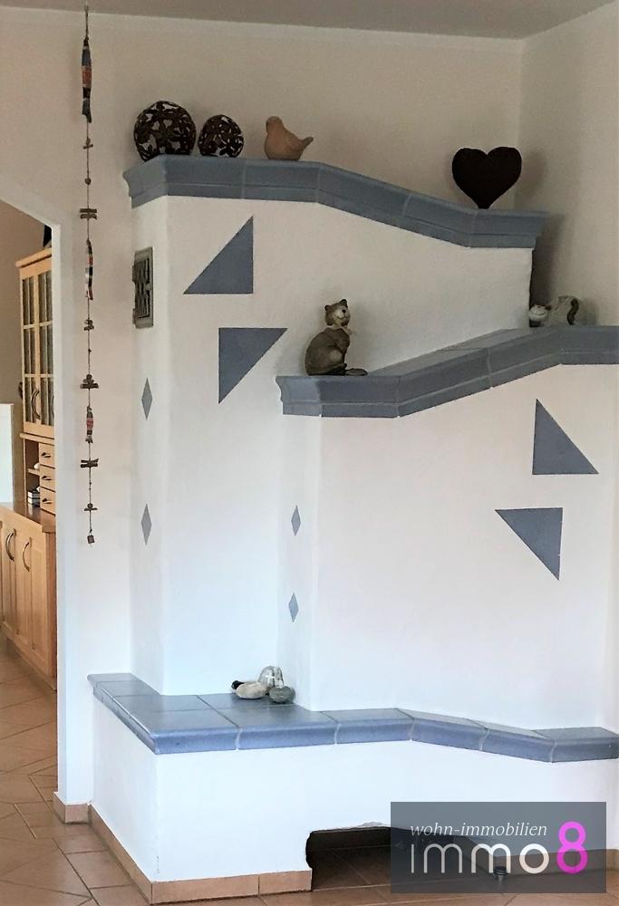 Kachelofen im Wohnraum
