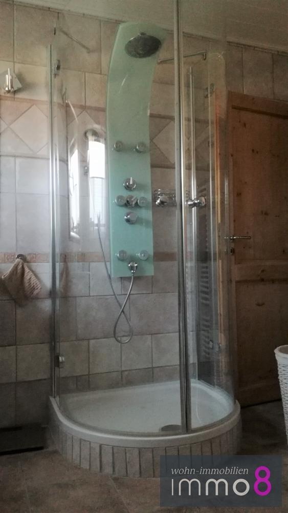.... mit Dusche