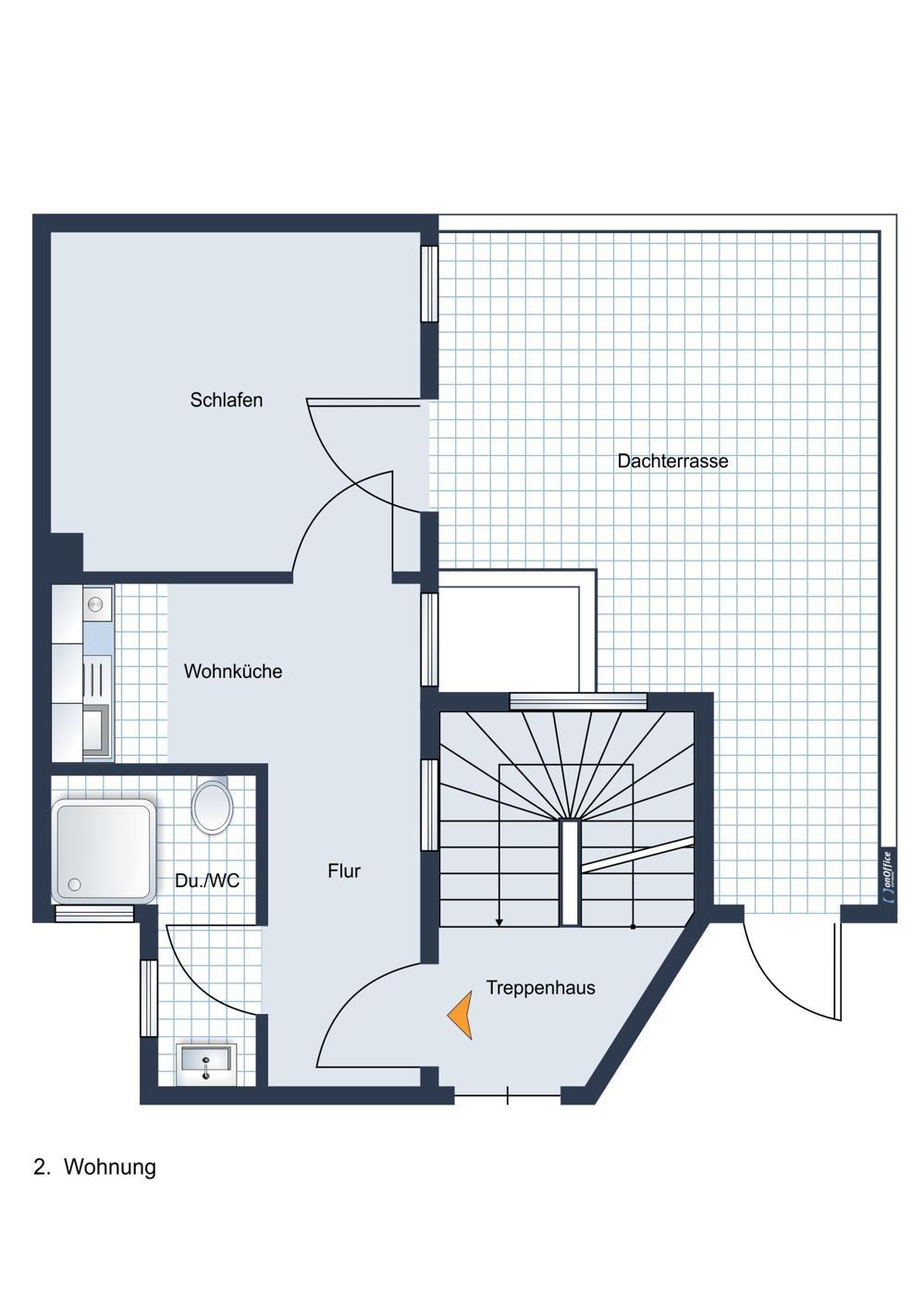 Wohnung 2, Obergeschoss west