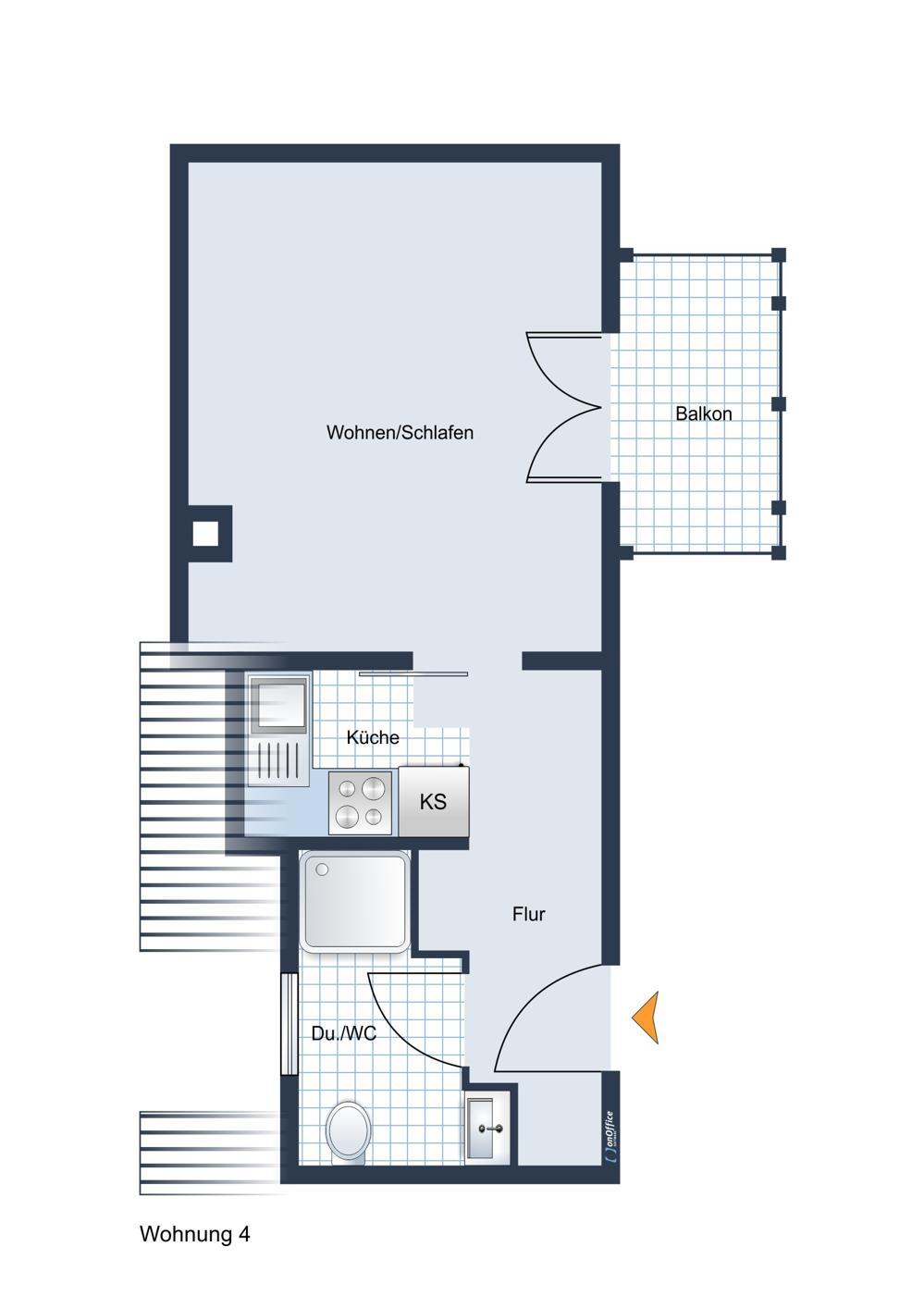 Wohnung 4, Dachgeschoss west