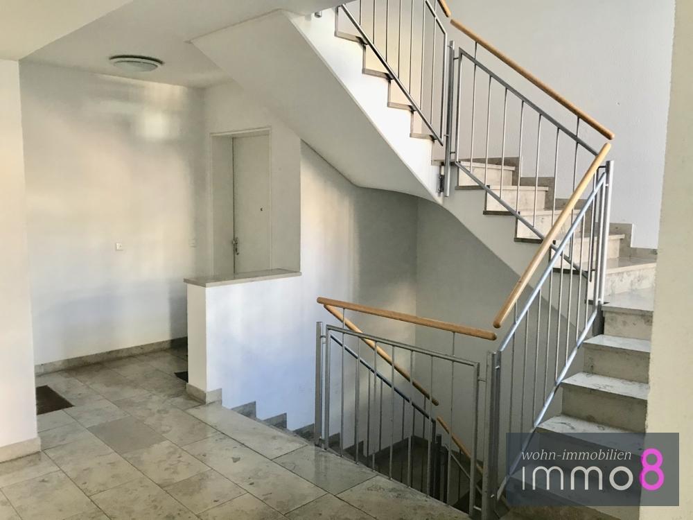 einladendes Treppenhaus
