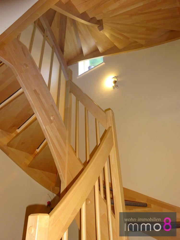 Dekorative Treppenanlage
