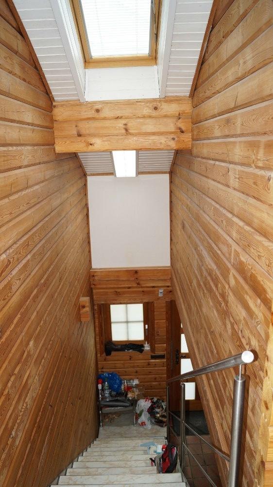Dachfenster im Treppenbereich
