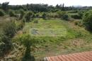 Garten mit Brunnen Richtung Westen