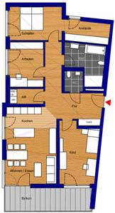 4-Zimmer-Whg.