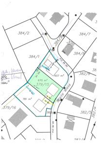 Lageplan 670 m²