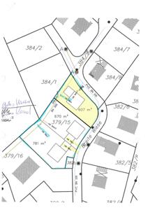 Lageplan 607 m²