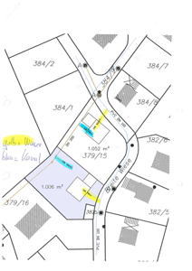 Lageplan 1006 m²