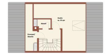 Grundriss Dachboden