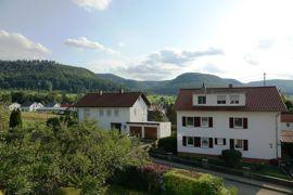 Panoramablick vom Dachgeschoss