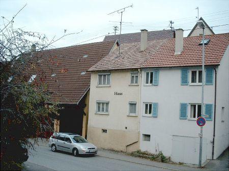 Ansicht von der Neckarstrasse