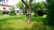 Garten mit altem Obstbaum-Bestand