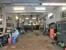 die voll ausgestattete Werkstatt