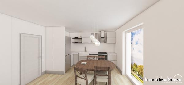 Visualisierung-Wohnküche