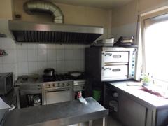 Küchenbereich Lokal