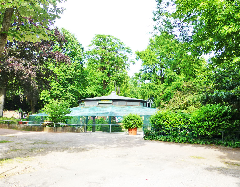 Vogel-Voliere-Bunter-Garten