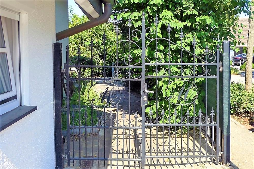 Separater Gartenzugang
