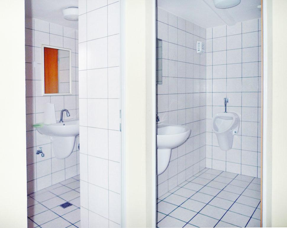 Detail WC-Anlage