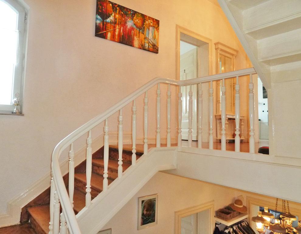 Treppenaufgang I. OG
