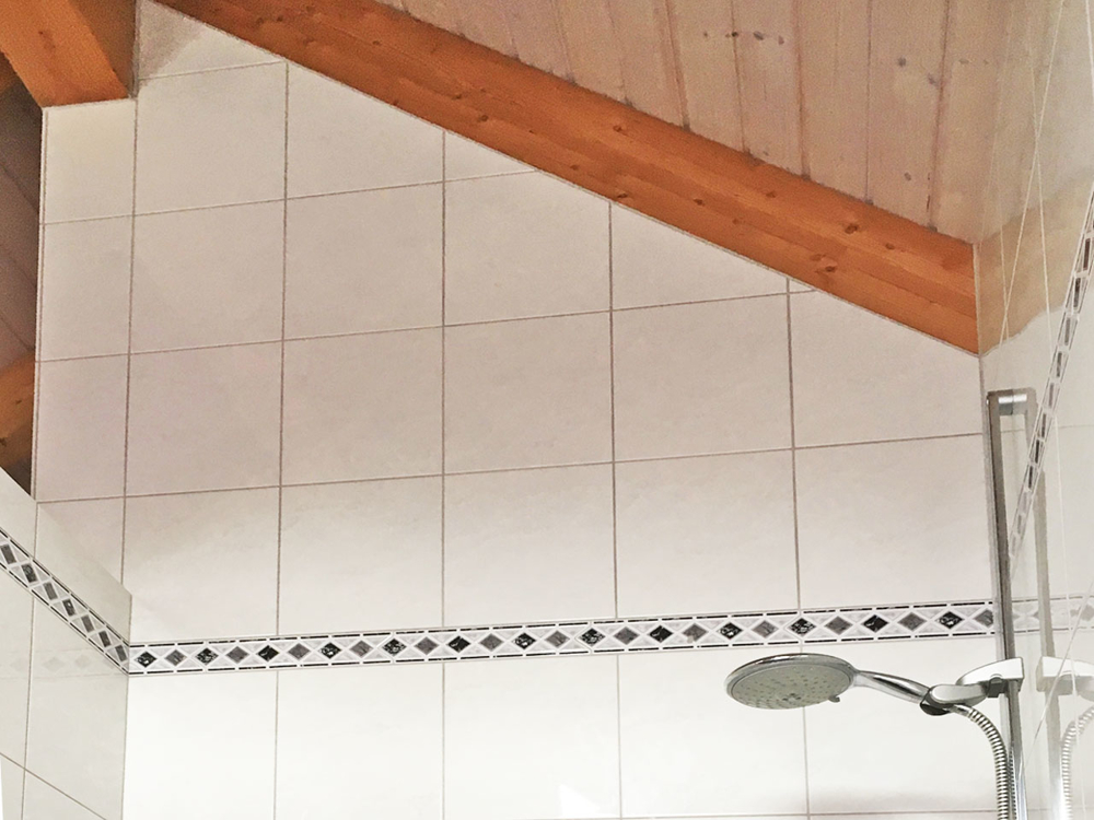 Detail Dusche im DG