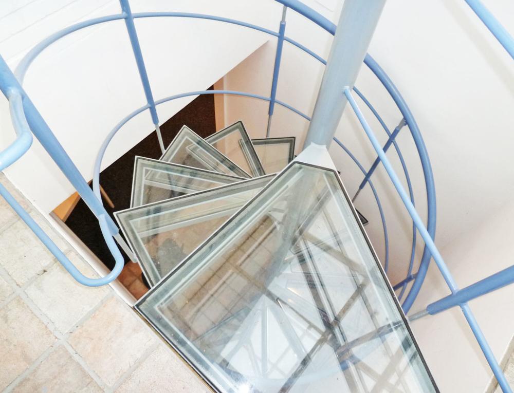 Glasanbau Treppe