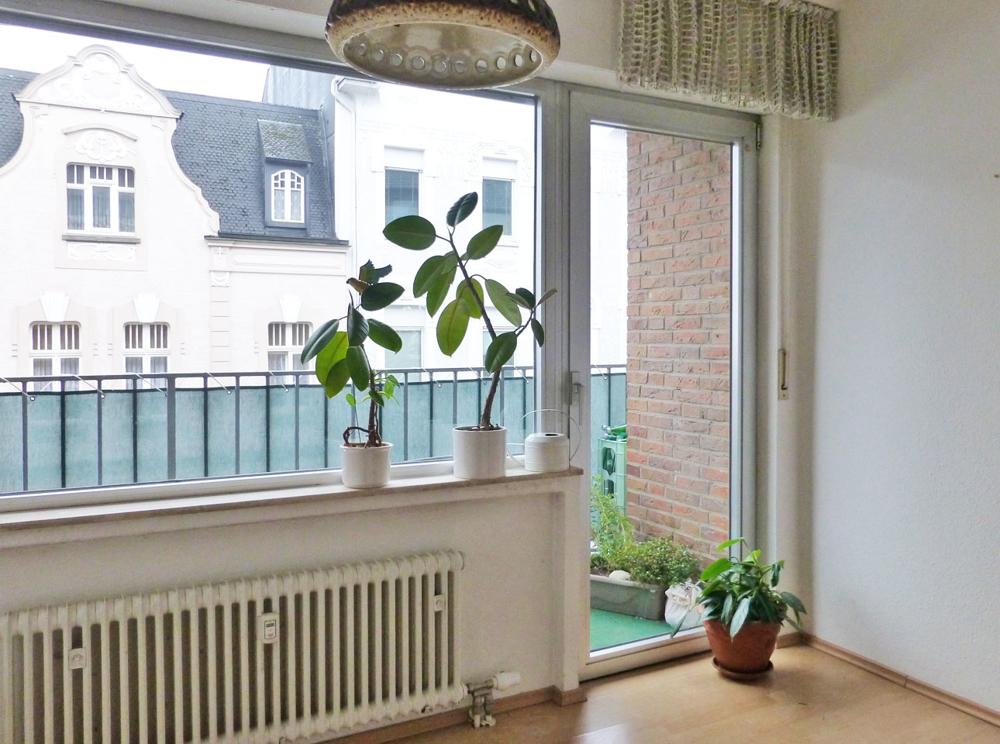 Detail Wohnen/ Balkon