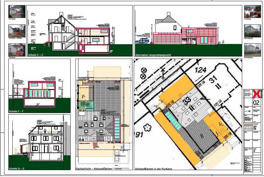 CAD Plan Umbau