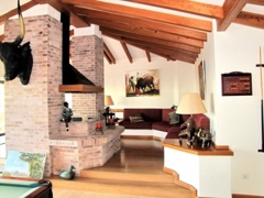 12 second living upstairs with fireplace
