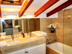 16 Bathroom guests upstairs