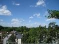 Aussicht von Dachterrasse