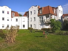 Grünbereich hinter dem Haus