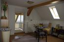 Zimmer mit Balkonzugang