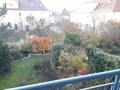 Blick vom Balkon der Wohnung