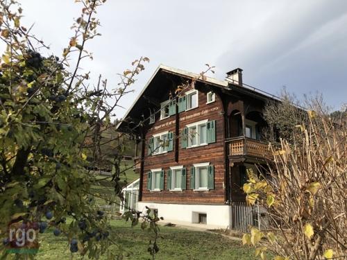 Typisches Walserhaus m. Gewerbetrakt ren.  2014