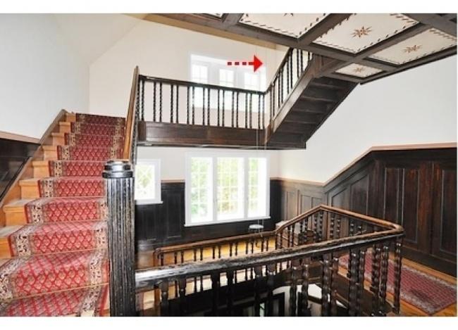 Ansicht 1 Treppe