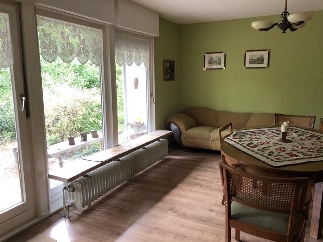 Wohnraum Terrassenzugang