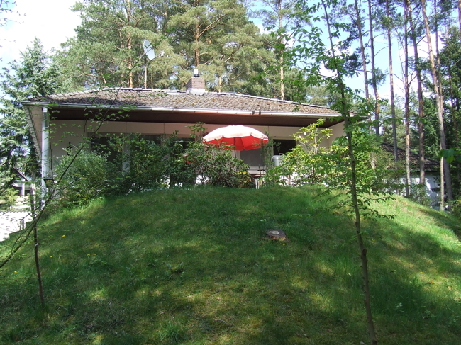 Terrasse, Gartenseite