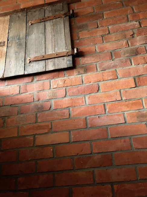 Detail im ehemaligen Stall