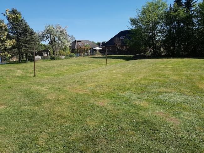 Gartenfläche mit Baurecht