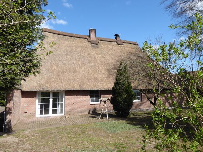 Gartenseite Wohnhaus