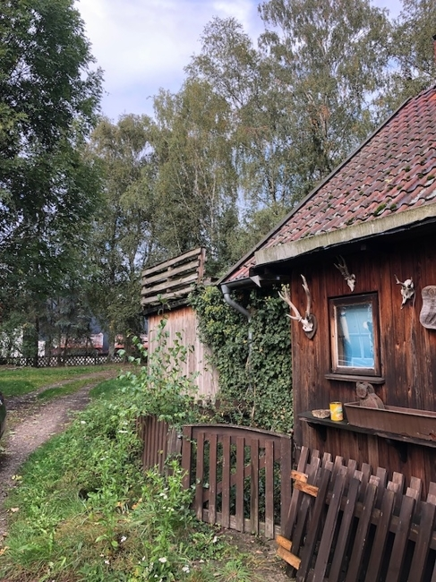 Nebengebäude Holzbau