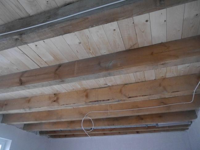 Holzbohlendecken