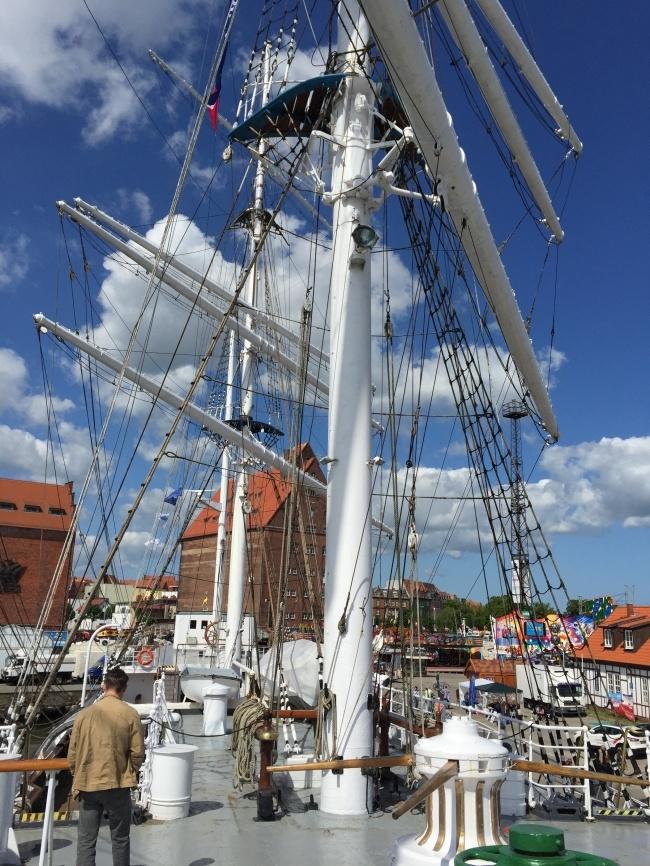 maritimes Flair in Stralsund